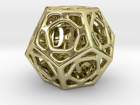 Cage d12 in 18K Gold Plated