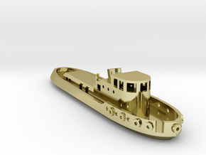 005B 1/350 Tug Boat in 18K Gold Plated