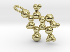 Theobromine Necklace (small) in 18K Gold Plated