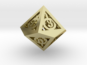 Deathly Hallows d10 in 18K Gold Plated