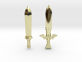 Toon Sword Pack in 18K Gold Plated