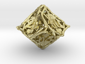 Botanical Decader Die10 (Oak) in 18K Gold Plated
