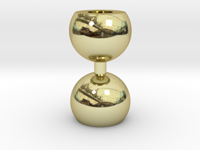 Ikebana Vase-10 in 18K Gold Plated
