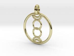Eukelade pendant in 18K Gold Plated