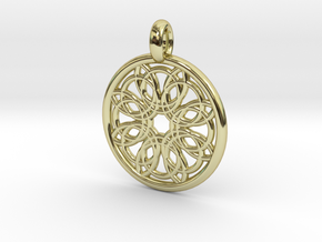 Megaclite pendant in 18K Gold Plated