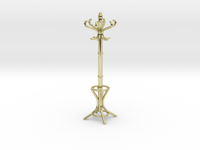 1:24 Miniature Coatrack in 18K Gold Plated