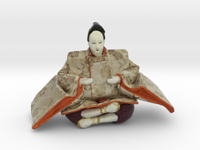 The Japanese Hina Doll-6 in Full Color Sandstone