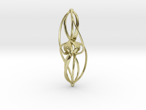 Libella Earrings  - 20mm in 18K Gold Plated