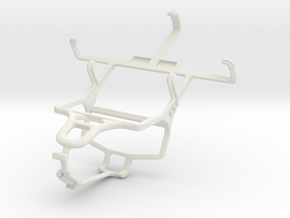Controller mount for PS4 & Samsung Galaxy Y Duos S in White Natural Versatile Plastic