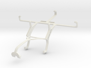 Controller mount for Xbox 360 & Samsung I9502 Gala in White Natural Versatile Plastic