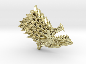 Game Of Thrones - Stark in 18K Gold Plated