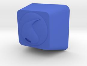 Pokemon Water Type Cherry MX Keycap in Blue Processed Versatile Plastic