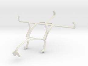 Controller mount for Xbox 360 & Sharp SH530U in White Natural Versatile Plastic