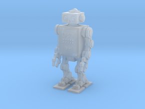 Retro Robot 1  in Frosted Ultra Detail
