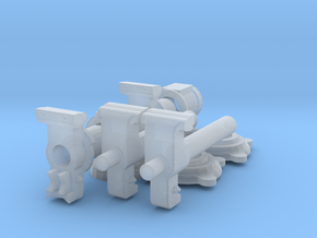 "1/24 scale 4"" Vise (pair) in Frosted Ultra Detail"