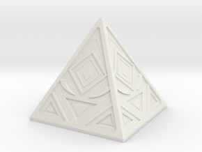 Sith Holocron 3 in White Natural Versatile Plastic