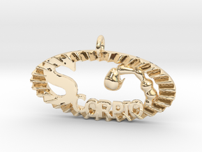 Scorpio Effect in 14K Yellow Gold