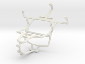 Controller mount for PS4 & Sony Xperia tipo in White Natural Versatile Plastic