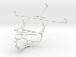Controller mount for PS4 & Spice Mi-510 Stellar Pr in White Natural Versatile Plastic