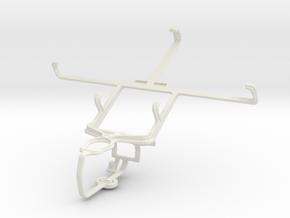 Controller mount for PS3 & Spice Mi-530 Stellar Pi in White Natural Versatile Plastic