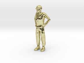 Foreman 1/29 scale in 18K Gold Plated