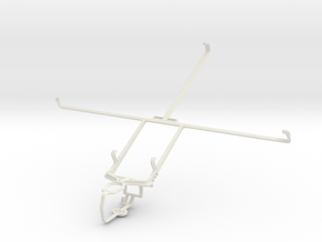 Controller mount for PS3 & Toshiba Excite Pure in White Natural Versatile Plastic