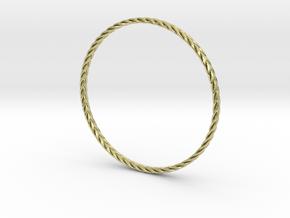 Turk's head bracelet in 18K Gold Plated