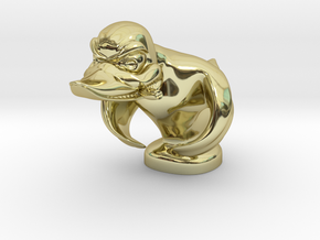Death Proof Duck in 18K Gold Plated