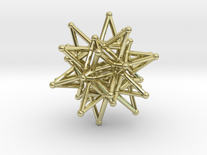 Tessa1 StarCore 2-2cm in 18K Gold Plated