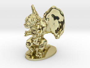Dragon Miniature in 18K Gold Plated