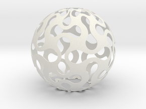 Lighing Sphere in White Strong & Flexible