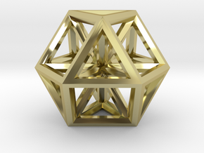 Small Vector Equilibrium in 18K Gold Plated