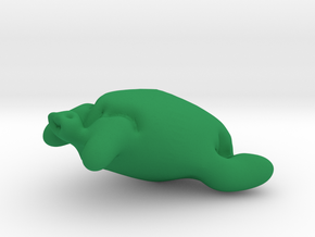 Essence Of Turtle in Green Processed Versatile Plastic