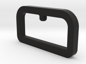 Programmer-Holder in Black Natural Versatile Plastic