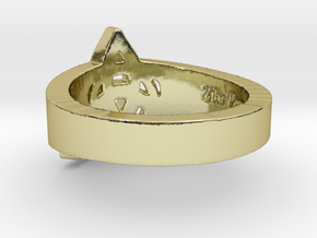 """Charmed"" Inspired Ring - Size 8 Ring Size 8 in 18K Gold Plated"
