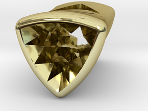 Stretch Diamond 5 By Jielt Gregoire in 18K Gold Plated