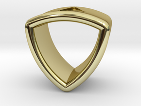 Stretch Shell 16 By Jielt Gregoire in 18K Gold Plated