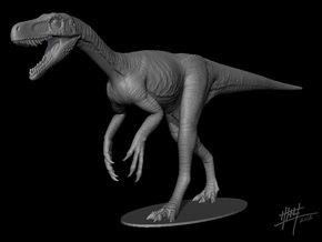 Herrerasaurus walk 1/12 in White Strong & Flexible