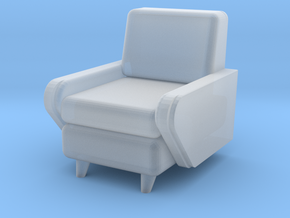 1:48 Moderne Club Chair in Smooth Fine Detail Plastic
