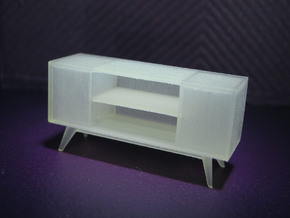 1:48 Moderne Credenza in Smooth Fine Detail Plastic