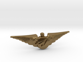 Big Imagination Captain's Wings in Polished Bronze