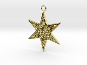 Star Ornament Medium in 18K Gold Plated