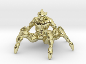 Spider Centaur in 18K Gold Plated