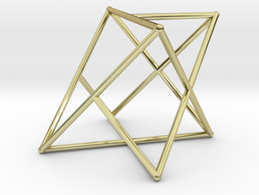 Rod Merkaba OpenBase 2cm in 18K Gold Plated