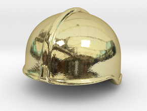 Fire Helmet Rosenbauer (Test) in 18K Gold Plated