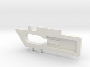 Window Lock in White Natural Versatile Plastic