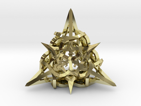 Thorn d4 Ornament in 18K Gold Plated