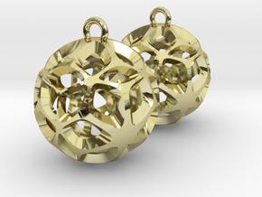 Orion-earrings in 18K Gold Plated