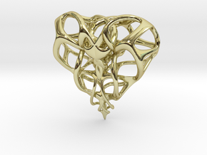 Heart for Love in 18K Gold Plated