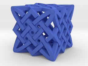 Dice162 in Blue Processed Versatile Plastic
